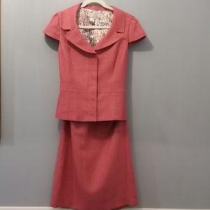 Tahari Suit in Rose-Size 10